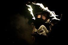 Золотая маска у Огненных людей